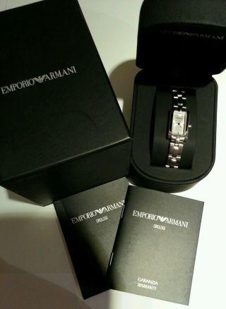 Emporio Armani Armbanduhr Damen Orginal Bild