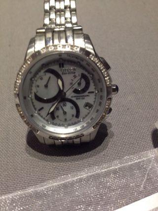 Citizen Eco - Drive Fb114051d Armbanduhr Für Damen Mit Diamanten Bild
