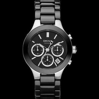 Dkny Damen - Armbanduhr Chronograph Quarz Keramik Ny4914 Uvp 375€ Bild
