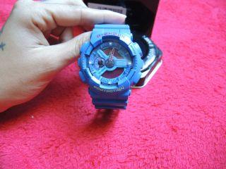Casio G - Shock Blau Bild