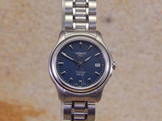 Tissot Quarz T27.  7.  181.  41 Titan Damen - Armbanduhr W116 Bild