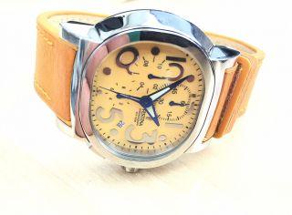 Festina Mambo F16125 Chronograph Leder Herren Damen Unisex Uhr Bild