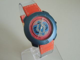Schöne Benetton Bulova Sammler Armband Uhr Top Funktion Bild