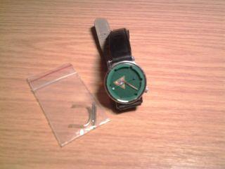 Akteo Leder Armbanduhr Damen Herren Uhr Pool Billard Quarz Hobby Unisex Bild