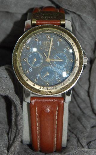 Camel Trophy Adventure Watch Chronograph Analog RaritÄt Selten Top Uhr Bild