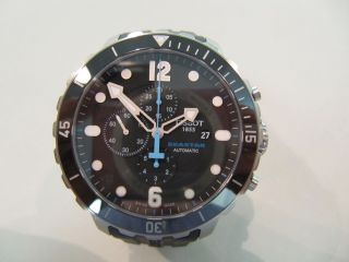 Tissot Seastar 1000 Keramik Automatik Chronograph Profi Taucheruhr Heliumventil Bild