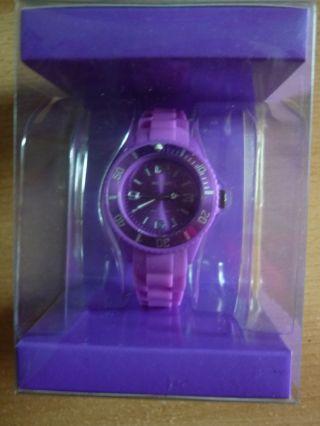 Ascot Colour Watch Mini Lila Uhr Aus Silikon Neu&ovp Bild