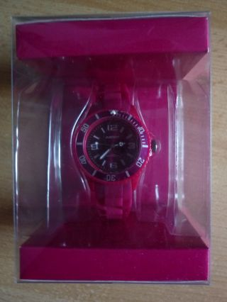 Ascot Colour Watch Mini Pinke Uhr Aus Silikon Neu&ovp Bild