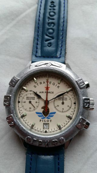 Poljot Russland Chronograph MilitÄr Handaufzug Cal.  3133 (22) Bild