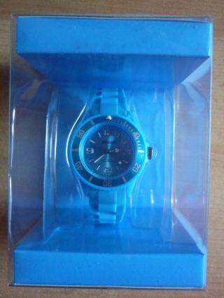 Ascot Colour Watch Mini Hellblaue Uhr Aus Silikon Neu&ovp Bild