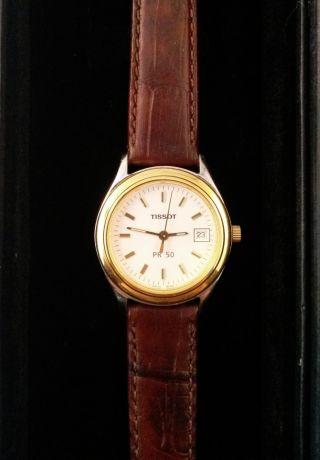 Tissot Pr 50 - Armbanduhr - Quarz - Vintage - Sammler Bild