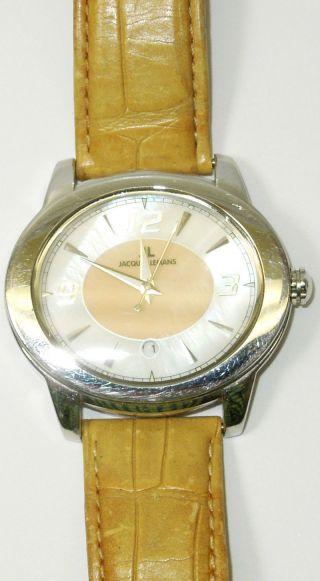 Jacques Lemans Damen Armband Uhr 1a Sehr Schön Perlmutt Zifferblatt Top Bild