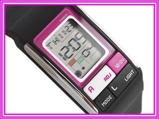 Casio Damenuhr Pink Rosa Schwarz Modell 3171 Digital Bild