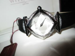 Luxus Swiss Wittnauer 30 Brillanten/diamanten Dau Box U.  Papiere Bild