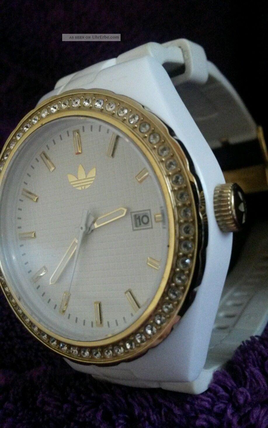 Adidas Damenuhr Adh 2127 Weißgold Nicht Mehr Im Handel