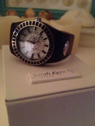 Sarah Kern Armbanduhr Schwarz Leder So Schön Bild