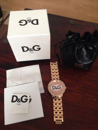 D&g Dw0847 Dolce&gabbana Rose Uhr Bild