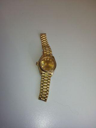 Rolex Lady Datejust Gelbgold 69178 Bild