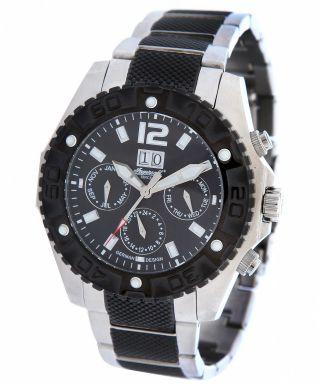 Elegante Ingersoll Automatik Uhr In1210 Bkmb Yuca Herrenuhr Edelstahl Bild