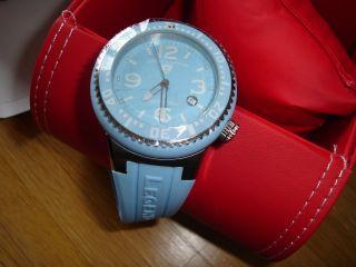 Swiss Legend Neptune Armbanduhr Uhr Babyblau Sl - 21848p - 012 Ungetragen Bild