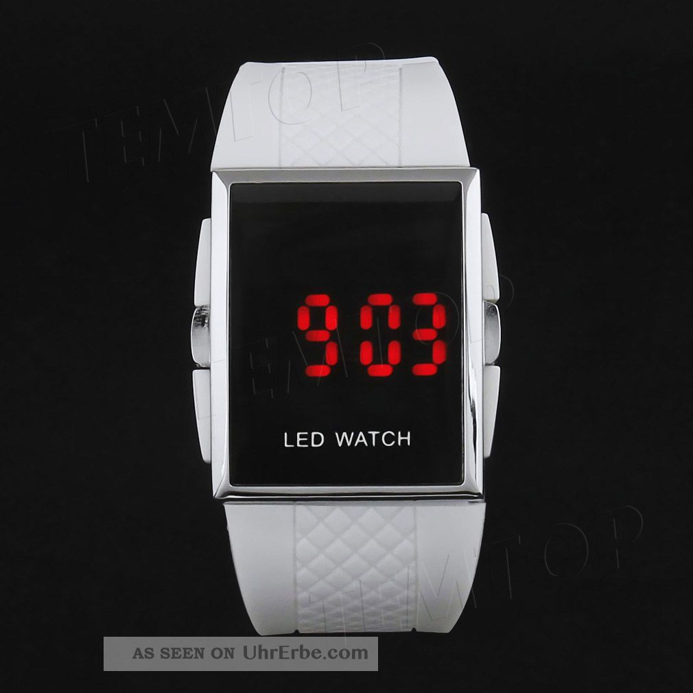 led digital armbanduhr watch herren damen kinder sport. Black Bedroom Furniture Sets. Home Design Ideas