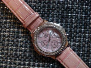 Mc - Damen Chronograph Große Damenuhr Mit Steinen Besetzter Lünette Top Bild