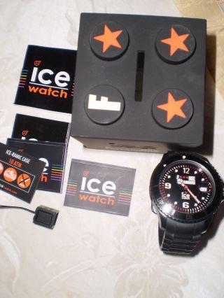 Ice Watch F Me I ' M Famous Schwarz Fmif Classic Big °topp Zustand° Bild