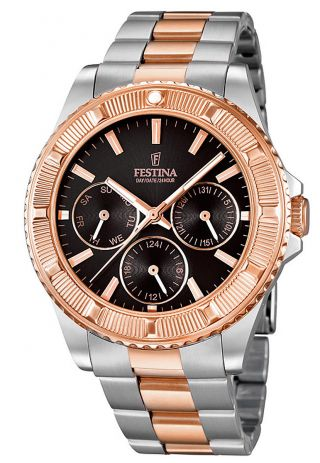 Festina Vendome Multifunktion Damen Uhr F16692/5 Bild