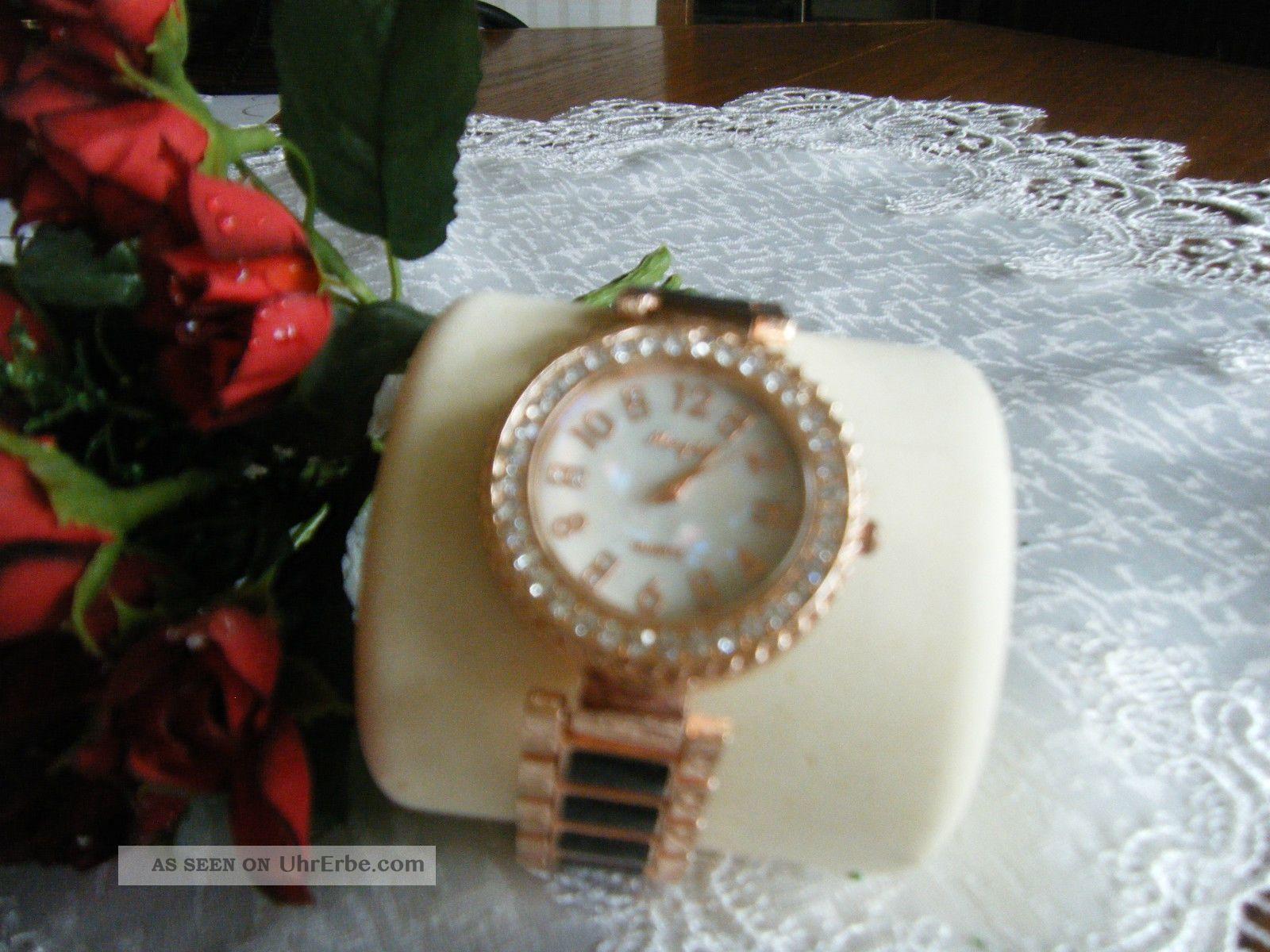 wundersch ne armbanduhr weihnachtsgeschenk weihnachten rose. Black Bedroom Furniture Sets. Home Design Ideas