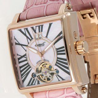 Org Ingersoll ♥ Damen Armbanduhr Liberty Limited Edition Rosa In7205pk Leder Bild