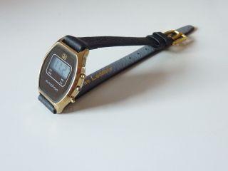 Ruhla Digital Damenuhr,  Vintage Ddr,  80er Jahre.  Nos,  Unbenutzt Bild