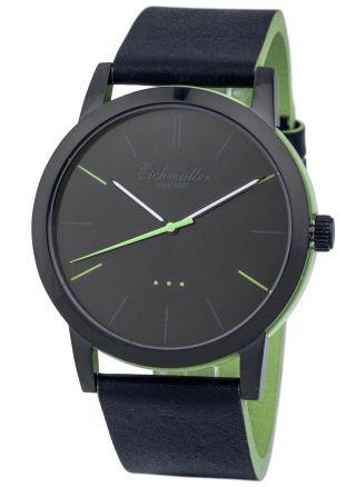 Modische EichmÜller 2 - Farben Design Uhr 4004 Herrenuhr Damenuhr Watch,  Grün Bild