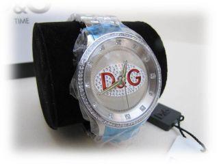 D&g Dolce&gabana Prime Time Dw0145 Damen Uhr Armbanduhr Edelstahl Bild
