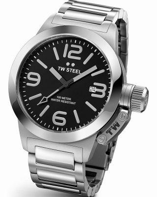 Tw Steel Tw - 300 Armbanduhr Edelstahl Unisex  & Ovp Bild