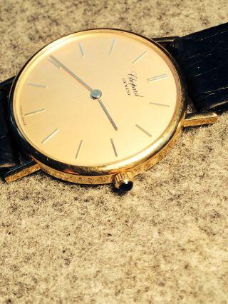 Chopard Geneve Armbanduhr 750´er Gold - Bild