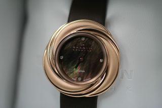 Skagen 885srld Diamanten Uhr - Damenuhr - Rosegold - 0,  016 - 0,  018 Karat Bild