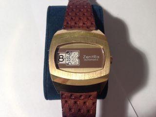 Zentra Automatik Digital /scheiben Herren Armband Uhr,  Puw - 1560 Bild