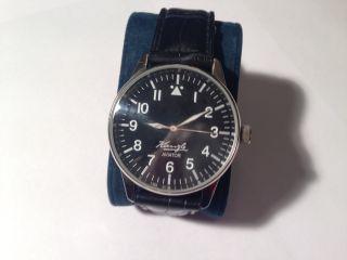 Kienzler Aviator Herren Armband Uhr Kal:068.  11 Bild