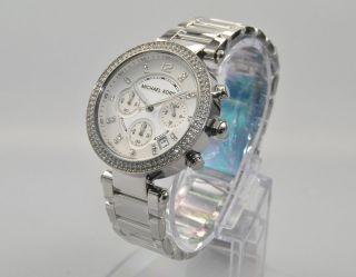 Michael Kors Mk5353 Damenuhr Armbanduhr Chronograph Edelstahl, Bild