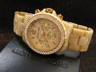 Michael Kors Uhr Damenuhr Chronograph Xl Mk5558 Bild
