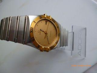 Omega Constellation Armbanduhr Für Herren/damen Bild