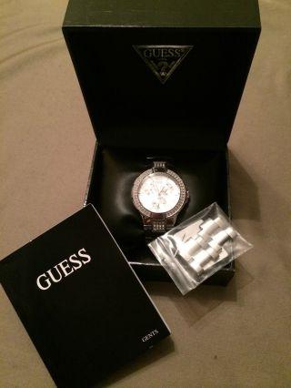 Guess Damenuhr Prism 14503l1 Luxusuhr Markenuhr Bild
