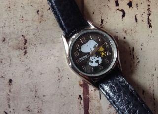 Retro Armitron Snoopy Pesnuts Armband Uhr Look Bild