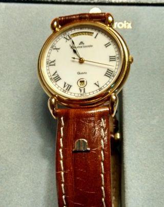 Maurice Lacroix,  Les Classiques,  Armbanduhr,  Day Date,  34 Mm,  Selten Getragen Bild