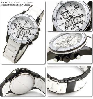 Marc By Marc Jacobs Uhr Uhren Damenuhr Chrono Mbm2574 Rock Markenuhr Bild