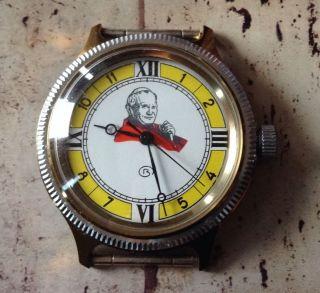 Vintage Papst Pope Armband Uhr Gesicht Look Bild