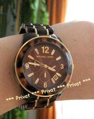 Uhr Michael Kors Mk5805 Damenuhr Mk Uvp 299 Chronograph Bild