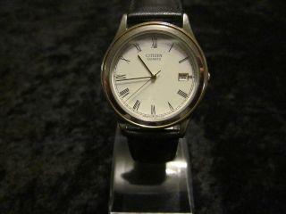 Citizen Quarz Quartz Wr Römisches Zifferblatt Uhr Uhren Armbanduhr Bild