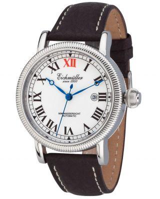 EichmÜller Automatikuhr 7930 Herrenuhr Business Uhr Edelstahl Watch,  Box Bild