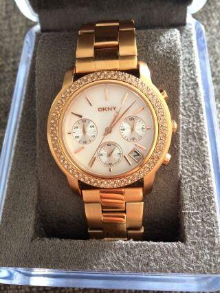 Dkny Uhr Damen Gold Uvp 200€ Bild